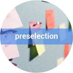 Preselecting the best candidates for you.