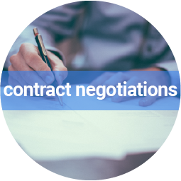 We help you to negotiate fair contract conditions
